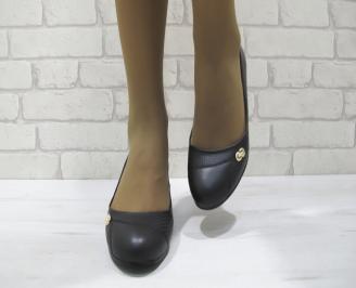 Дамски ежедневни обувки черни  еко кожа IXLI-23300