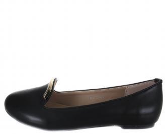 Дамски ежедневни обувки еко кожа черни WJHD-18244