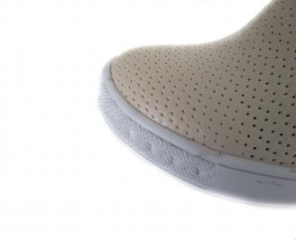 Дамски летни ботуши еко кожа бежови XPQC-18551