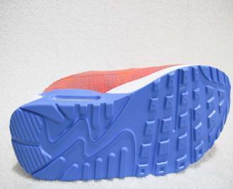 Дамски маратонки  Bulldozer текстил корал DZMK-23229