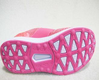 Дамски маратонки  Bulldozer текстил розови ETLV-23232