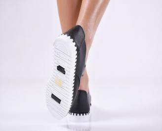 Дамски  обувки  черни  еко кожа JZOT-23960