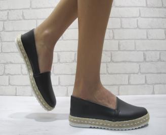 Дамски  обувки  черни еко кожа