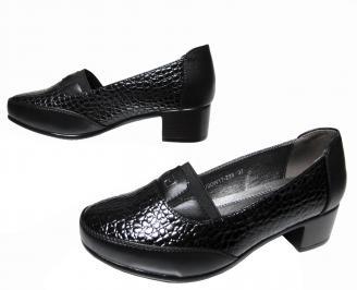 Дамски обувки  черни от еко кожа CMAA-22528