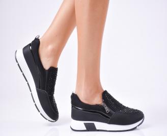 Дамски обувки  еко кожа черни ARLE-1010247