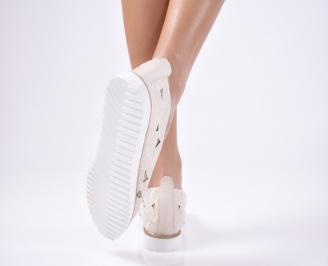 Дамски  обувки еко кожа бежов LWRN-1012115