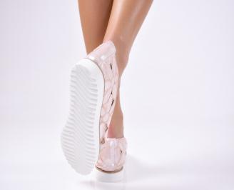 Дамски  обувки еко кожа розови GTMO-1012341