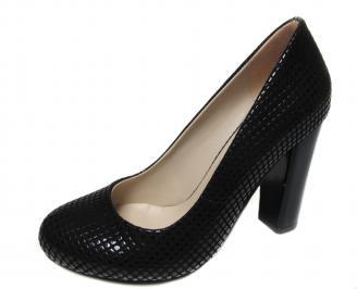 Дамски обувки еко кожа черни BSFK-20780