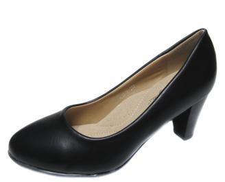 Дамски обувки еко кожа черни GMHC-20842