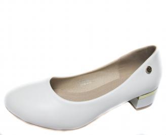 Дамски обувки еко кожа бели CWVD-20993