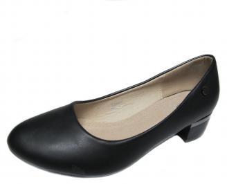 Дамски обувки еко кожа черни GUGA-20994