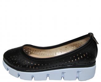 Дамски обувки еко кожа черни QBGG-21416