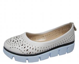 Дамски обувки еко кожа бели DPBD-21417