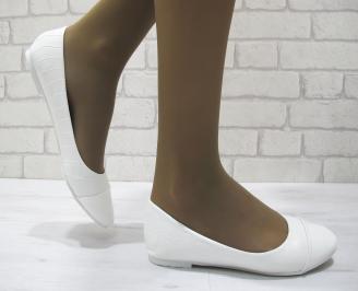 Дамски обувки еко кожа бели IDZL-23537