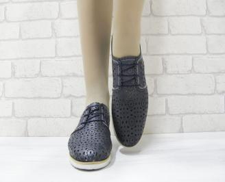 Дамски  обувки  еко кожа тъмно сини 4