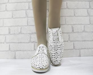 Дамски  обувки  еко кожа бели EHEY-23770