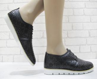 Дамски  обувки  еко кожа черни OJMZ-23773