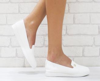 Дамски  обувки   еко кожа бели TYMF-26461