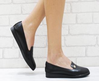 Дамски  обувки   еко кожа черни XNGO-26463