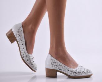 Дамски обувки еко кожа бели XQXN-26927