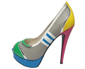 Дамски  обувки еко кожа шарени HYOY-12892