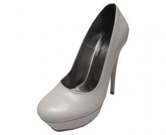 Дамски обувки еко кожа бежови DBIP-14734