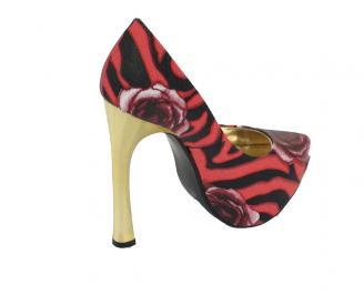 Дамски обувки еко кожа шарени FCFI-10487