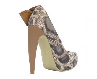 Дамски обувки еко кожа шарени IRAK-10491