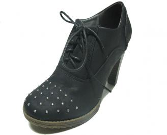Дамски обувки еко кожа сиви YSFW-14966