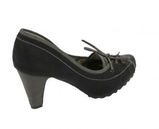 Дамски обувки еко кожа черни FFWE-10551