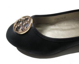 Дамски обувки еко кожа черни YVCD-15889