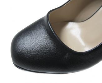 Дамски обувки еко кожа черни JVNF-16029