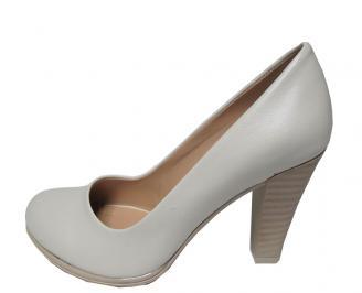 Дамски обувки еко кожа бежови OYAK-16038