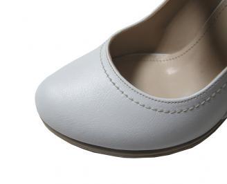 Дамски обувки еко кожа бели PHOT-16039