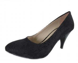 Дамски обувки еко кожа черни ULQI-18495