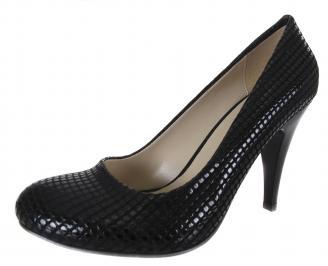 Дамски обувки еко кожа черни HOCA-18498