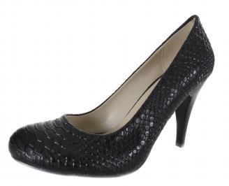 Дамски обувки еко кожа черни OKOX-18499