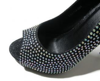 Дамски обувки екокожа черни JTSJ-15879
