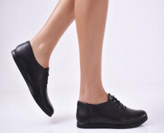 Дамски  обувки естествена кожа черни BCBC-1011050