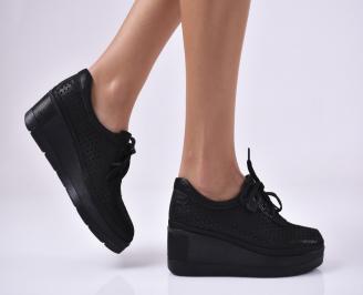Дамски  обувки естествена кожа черни JTIX-1011311