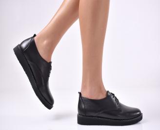 Дамски  обувки естествена кожа черни NEAX-1011576