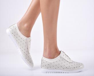 Дамски  обувки естествена кожа бежови CNGB-1011760