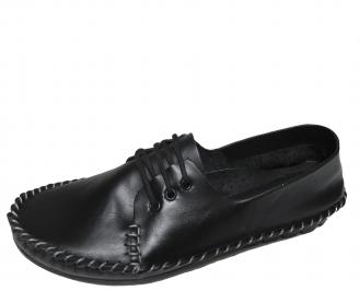 Дамски  обувки естествена кожа черни ABZY-21123