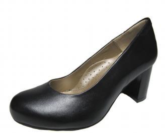 Дамски обувки естествена кожа черни NHAX-21370