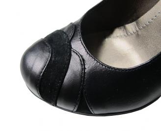 Дамски обувки естествена кожа черни XLAL-16107