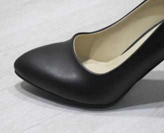 Дамски  обувки Гигант  черни еко кожа ANCE-24284
