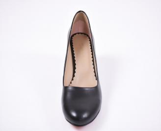 Дамски  обувки Гигант еко кожа черни TWSQ-1011384