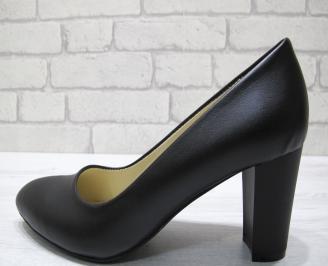 Дамски обувки-Гигант еко кожа черни TYGE-22895