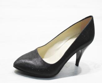 Дамски  обувки Гигант  еко кожа  черни RFQP-25872