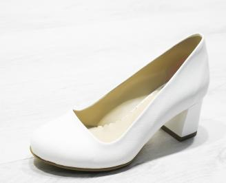 Дамски  обувки Гигант  еко кожа  бели BPSQ-26087
